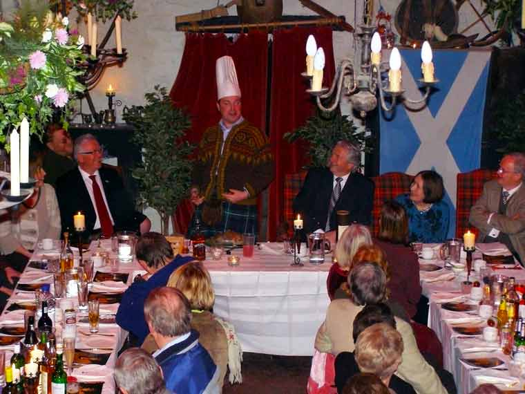 Burns Night at Ledard Farm